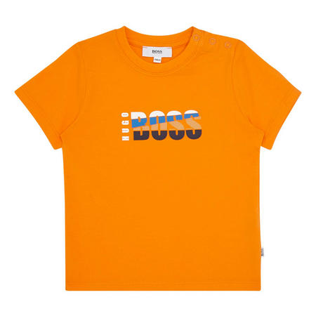 Babies Tri-Colour Logo T-Shirt