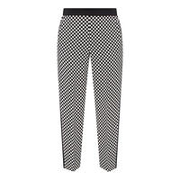 Dog Check Trousers