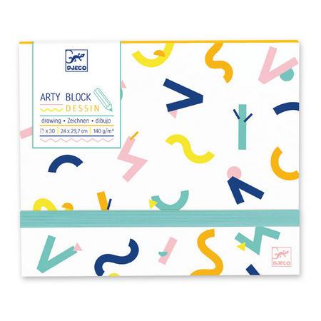 Arty Block Drawing Paper
