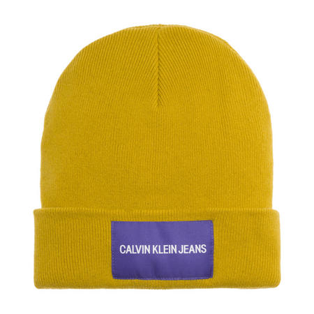 361d6dfa808 Calvin Klein Jeans CKJ Logo Beanie Hat