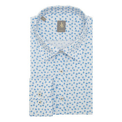 Messina Leaf Print Shirt
