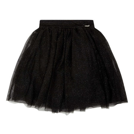 Glitter-Effect Skirt