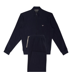 Lightweight Zip-Through Loungewear Set