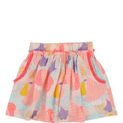 Pear Print Skirt