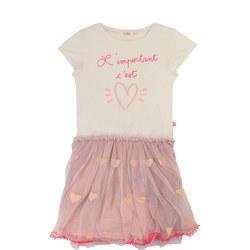 Heart Tutu T-Shirt Dress