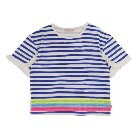 Ruffled Stripe T-Shirt