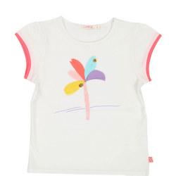 Flower Applique T-Shirt