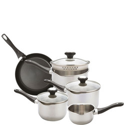 Strain Away 5 Piece Cookware Set With Straining Lids