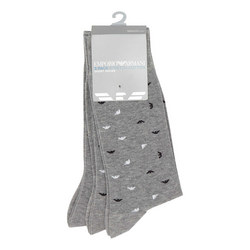 Three-Pack Logo Socks
