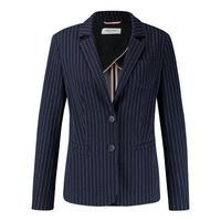 Pinstripe Tailored Blazer