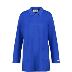 Wool Patch Pocket Coat