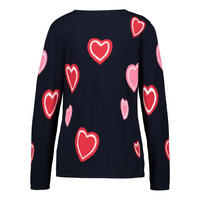 Heart Motif Sweater