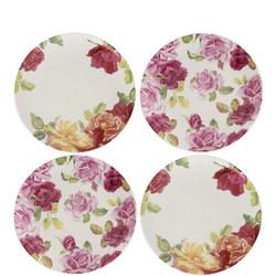 Kew Southbourne Rose Set Of 4 Side Plates