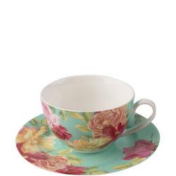 Kew Southbourne Rose Teacup & Saucer