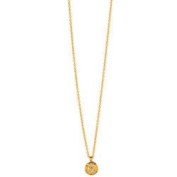 Gorjana Collette Circle Necklace