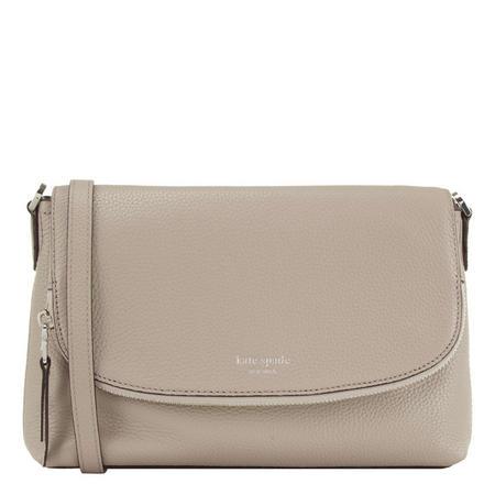 Polly Large Flap Crossbody Bag