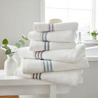 Hotel Collection Estela Towel Blue Mist