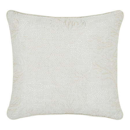 Pink and Rose Cushion Grey 40 x 40cm