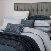 Hotel Collection Sakala Duvet Cover Blue Mist