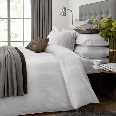 Hotel Collection Sakala Duvet Cover White