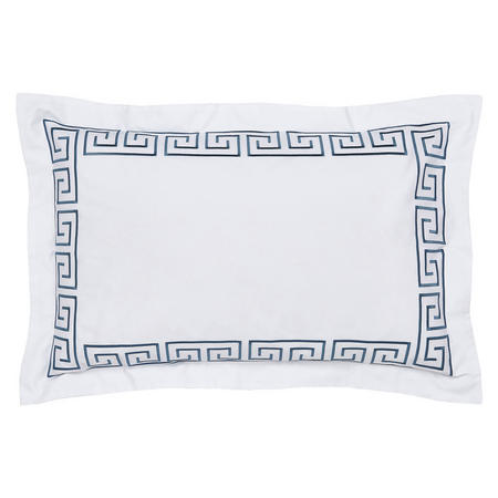 Hotel Collection Melbury Oxford Pillowcase Prussian Blue
