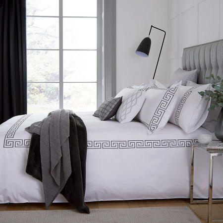 Hotel Collection Melbury Duvet Cover Platinum