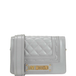 Quilted Logo Crossbody Bag