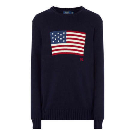 Iconic Knitted Flag Sweater