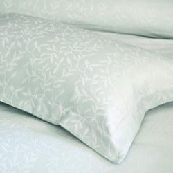 Fern Oxford Pillowcase Light Green