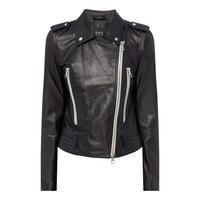 Tyler Leather Biker Jacket
