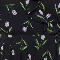 Tulip Wrap Dress