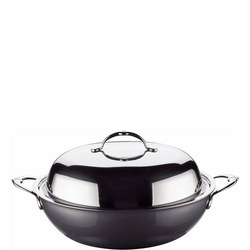Hestan 34cm Covered Wok