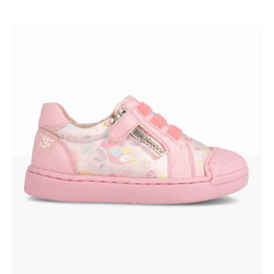 Printed Lace Trainers