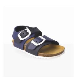 Plain Buckle Sandals