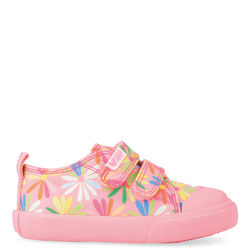 Flower Print Trainers