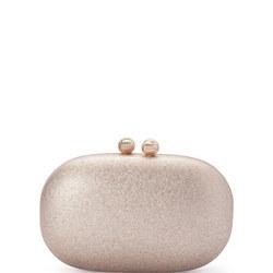 Calli Glitter Oval Clutch