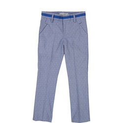 Dot Print Formal Trousers