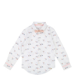 Bulldog Print Shirt
