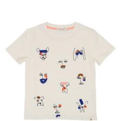 Bulldog Fringed T-Shirt