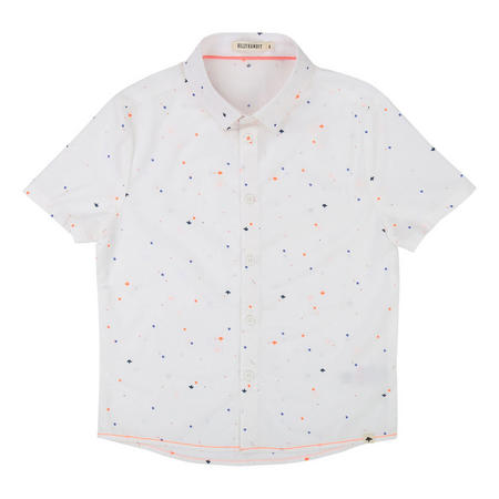 Dot Print Short Sleeve Shirt