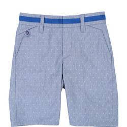 Formal Dot Print Shorts