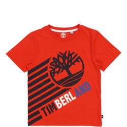Diagonal Stripe Logo T-Shirt