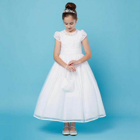 Flower Top Communion Dress