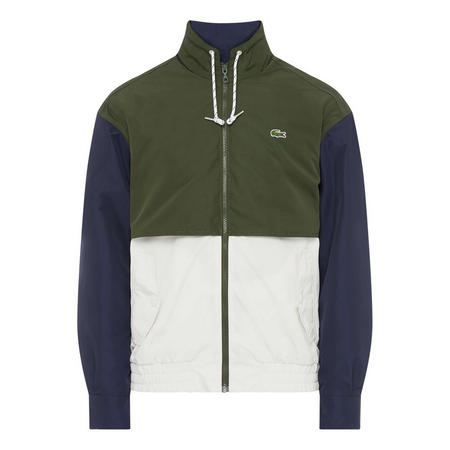 Retro Sports Colour Block Jacket