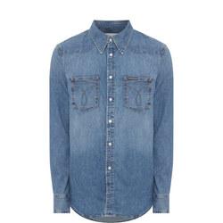 Western Omega Denim Shirt