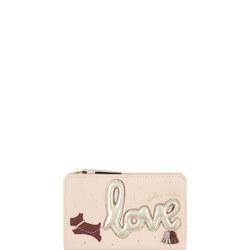 Love is in the Air Medium Zip Top Purse