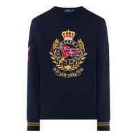 Crest Sweat Top