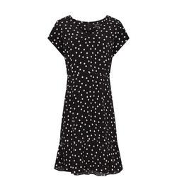 Polka Dot V-Neck Dress
