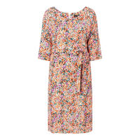 Brushed Dot Mini Dress