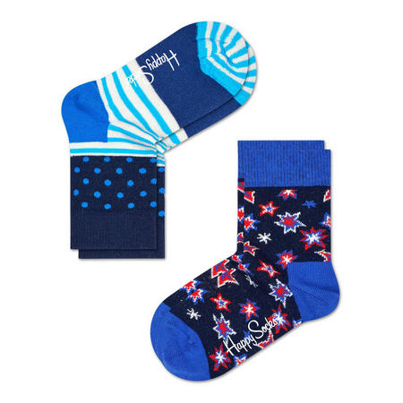 Two-Pack Stars And Stripes Kids Socks